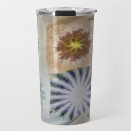 Benching Constitution Flowers  ID:16165-063617-72980 Travel Mug