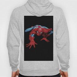 crawling spider man Hoody