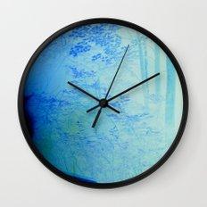 Fire Forest Wall Clock