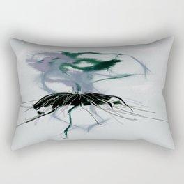 Abstract Ballerina Graphic Design Rectangular Pillow