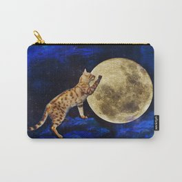 Kitty Locket's Trip to the Moon Carry-All Pouch