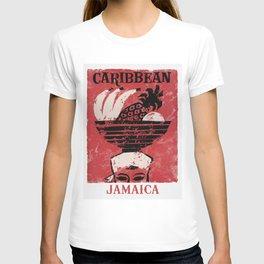 Jamaica - Vintage Caribbean Travel T-shirt