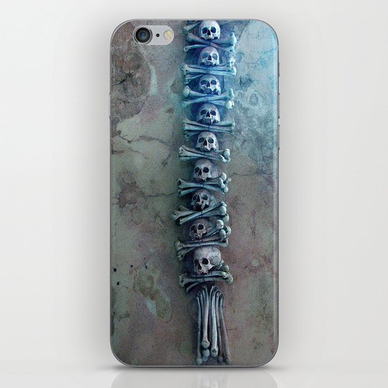 bone church iPhone & iPod Skin