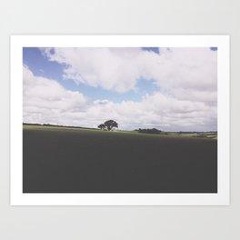 Open. Art Print