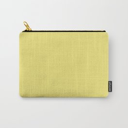 Lemon Verbena F3E779 Solid Color Block Spring Summer Carry-All Pouch