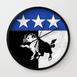 Doran Crest Wall Clock