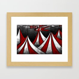 Life In The Circus Ain't Easy Framed Art Print