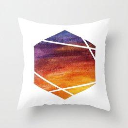 Hodgepodge Bricolage Logo Throw Pillow
