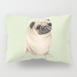 Sweet Fawn Pug Pillow Sham
