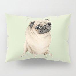 Sweet Fawn Pug Pillow Sham