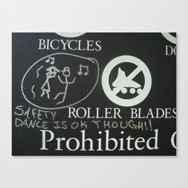 Safety Dance Canvas Print