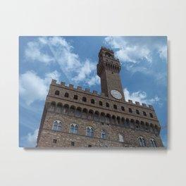 The Palazzo della Signoria - Florence, Italy Metal Print