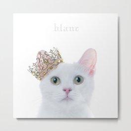 Aimer - Blanc Metal Print