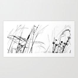 Grasshopper swaying Art Print