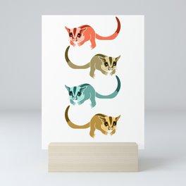 Sugar Glider Colorful Mini Art Print