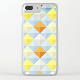 Abstract Pattern Clear iPhone Case