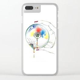 eye ball Clear iPhone Case