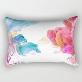 Colorful smoke pattern Rectangular Pillow
