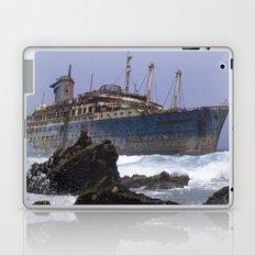 Blue boat colors fashion Jacob's Paris Laptop & iPad Skin