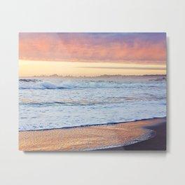 Clouds at Sunset Before the Storm, Santa Cruz Metal Print