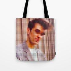 Morrissey Pixel Portrait Tote Bag