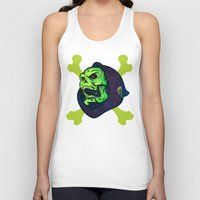 skeletor Tank Tops featuring Skeletor by Beery Method