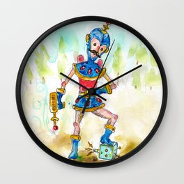 Slappy Johnson, Intergalactic Space Jerk.  Wall Clock