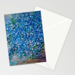 Forget-Me-Not Stationery Cards