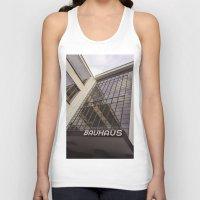 bauhaus Tank Tops featuring Bauhaus by Nat Alonso