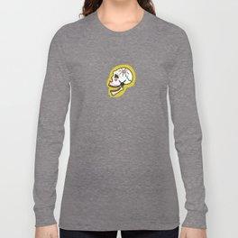 Smiling sugar skull Long Sleeve T-shirt