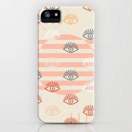 honest eyes iPhone Case