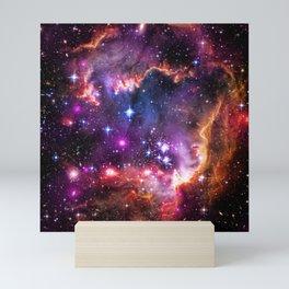 Small Magellanic Cloud's Starry Wingtip Mini Art Print