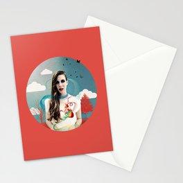 CORNELIAS Heart Rhythms  Stationery Cards