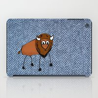 buffalo iPad Cases featuring buffalo by Paul Simms