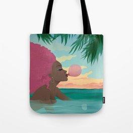 Bubblegum Beach Tote Bag
