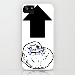 Forever Alone iPhone Case