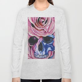 Skull and Roses Long Sleeve T-shirt