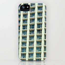 Tel Aviv - Crown plaza hotel Pattern iPhone Case