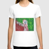 turkey T-shirts featuring Angry Turkey by Sian Blackman
