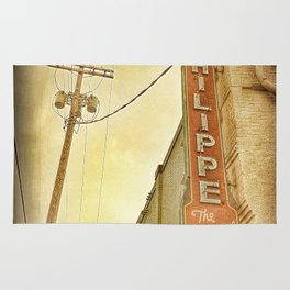 Phillipe's French Dip - Los Angeles, CA Rug