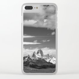 Fitz Roy Clear iPhone Case