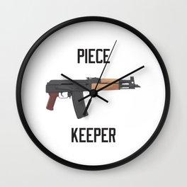 Draco AK 47 Piece Keeper Wall Clock