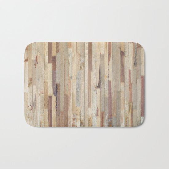 Wood Planks Bath Mat