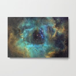 Galaxy Hubble Image NGC 2244 Metal Print