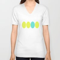 dot V-neck T-shirts featuring dot. by Bethany Mallick