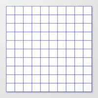 grid Canvas Prints featuring GRID by G-VNCT