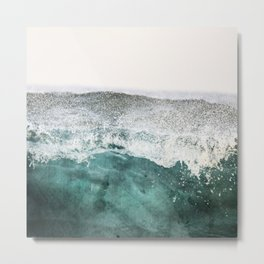 montagne liquide Metal Print