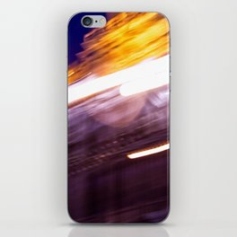 On the move through Moscow iPhone Skin