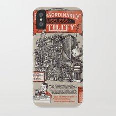 Extraordinarily Useless Utility iPhone X Slim Case