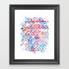 Navajo mess Framed Art Print